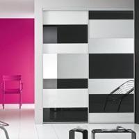placard-kazed-portes-coulissantes-laquees-blanc-noir