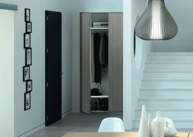 Portes de placard tendances dressings et placard - Couleur hall d entree feng shui ...