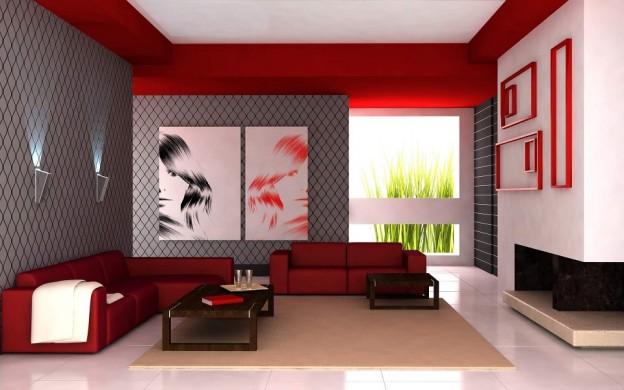 salon moderne avec Orion Dressings
