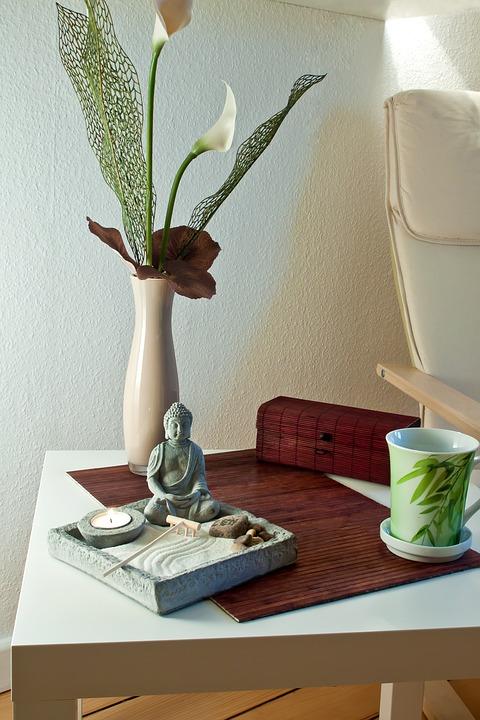 ambiance Feng Shui touche zen